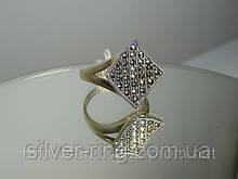 Перстень з крапельного срібла