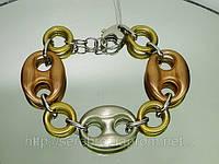Стильный серебряный браслет