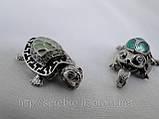 """Подвеска серебряная """"Черепаха"""", фото 4"""