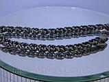 """Черненый браслет на руку плетение """" Панцерное """", фото 5"""