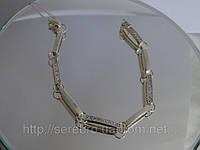 Молодежный браслет с кубическими цирконами