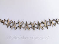 Оригинальный серебряный браслет, фото 1