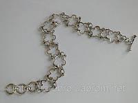 Молодежный серебряный браслет