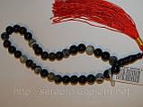 Четки из серого агата - прекрасный подарок, фото 3