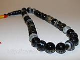 Четки из серого агата - прекрасный подарок, фото 4