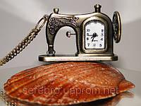 """Украшение на шею часы - подвес """"Швейная машинка"""", фото 1"""