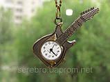 """Винтажные часы - подвеска """"Гитара"""", фото 2"""