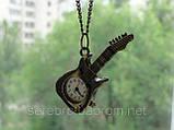 """Винтажные часы - подвеска """"Гитара"""", фото 5"""