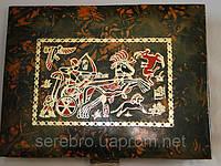 Кожаная шкатулка для украшений, фото 1