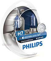 Philips Diamond Vision 5000K, Н7, 2шт, 12972DV