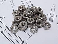 Гайка шестигранная М2 DIN 934 из стали А2, фото 1