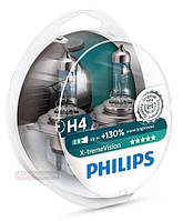Philips X-Treme Vision +130% H4 2шт. 12342XV