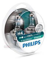 Philips X-Treme Vision +130% H4 12V 60/55W P43T 2шт. 12342XV