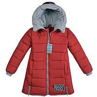 Детская куртка парка для девочки весна осень