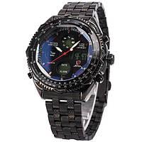 Мужские наручные часы Shark Eightgill черные