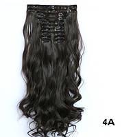 Купить накладные волосы с локонами не дорого 12 прядей длинные - 55 см., фото 1