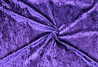 Велюр мрамор стрейчевый(фиолетовый)