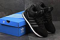 Зимние кроссовки Adidas  Neo, чёрные