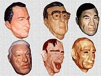 Маска Путина, Брежнева и политиков