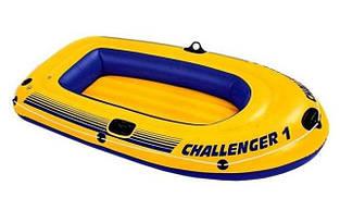 Надувная лодка 193х108х38 Intex 68365 CHALLENGER 1
