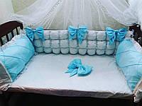 Бортики -защита в кроватку