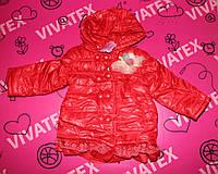 Куртка детская Шляпка пуговка красная
