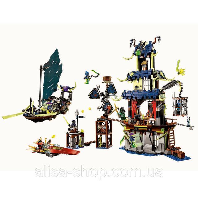 Детский конструктор Ninjago Город Стикс аналог лего