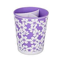 """Подставка для столовых приборов фиолетовый """"Дольче вита"""" Альтернатива"""