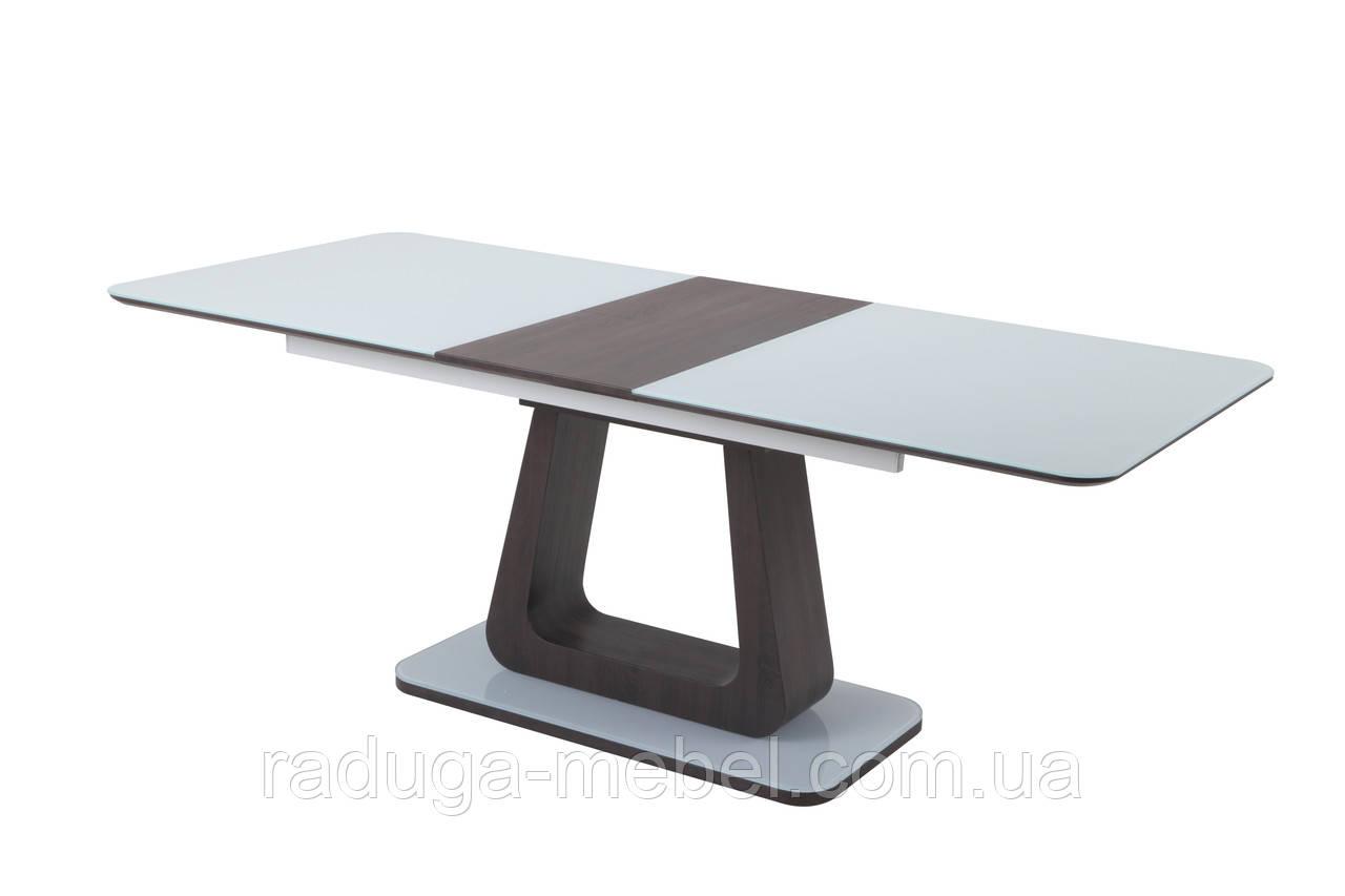 Стол кухонный обеденный белый/венге TМL-521