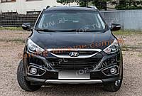 Накладка на крышку капота на Hyundai ix35 2009-2013