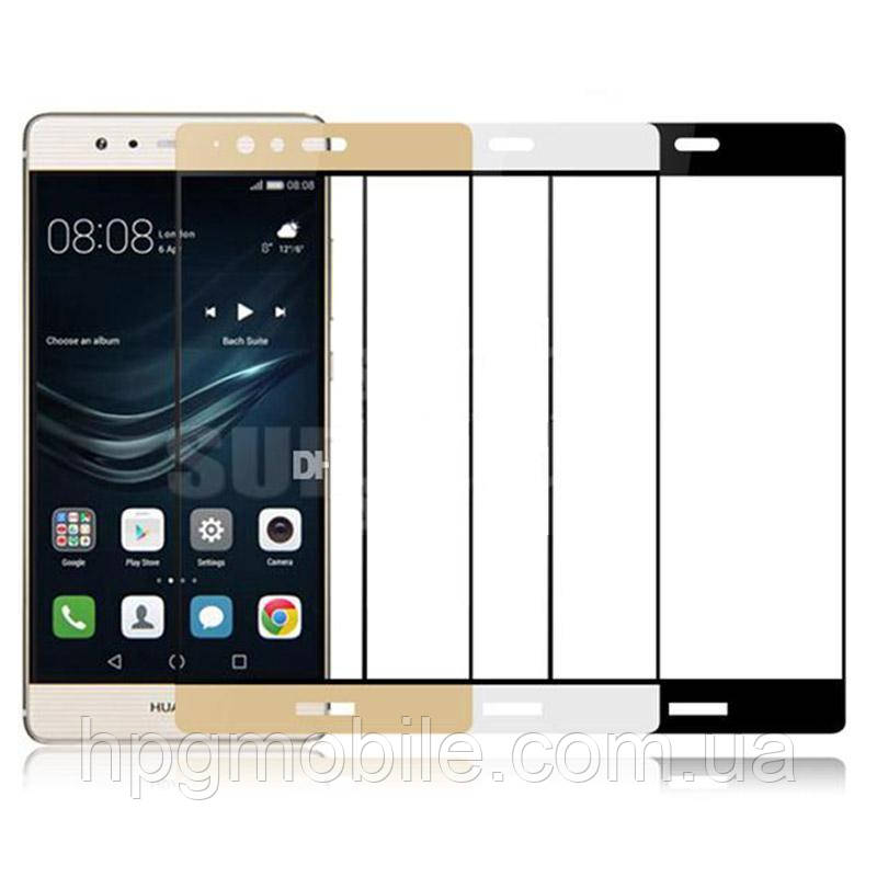 Защитное стекло 3D для Huawei P9 Lite, G9 Lite  - HPG 3D Tempered Glass, разные цвета