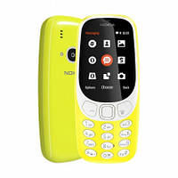 Кнопочный телефон Nokia 3310 DS желтый