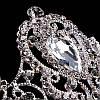 Корона круглая на голову БРАУНИ корона для волос свадебная бижутерия, фото 2
