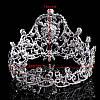 Корона круглая на голову БРАУНИ корона для волос свадебная бижутерия, фото 3
