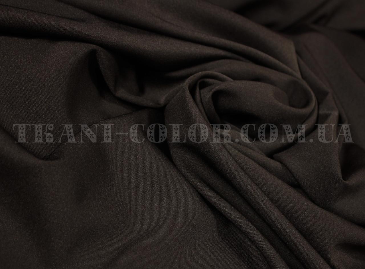 Костюмная ткань мадонна шоколад