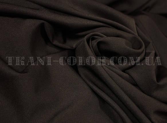 Костюмная ткань мадонна шоколад, фото 2