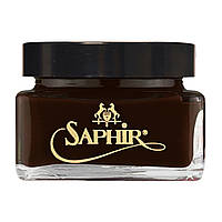 Крем для обуви Saphir Medaille D'or Creme Cordovan 75 мл 01 (Чёрный)