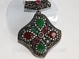 Кулон из черненого серебра в этническом стиле, фото 5