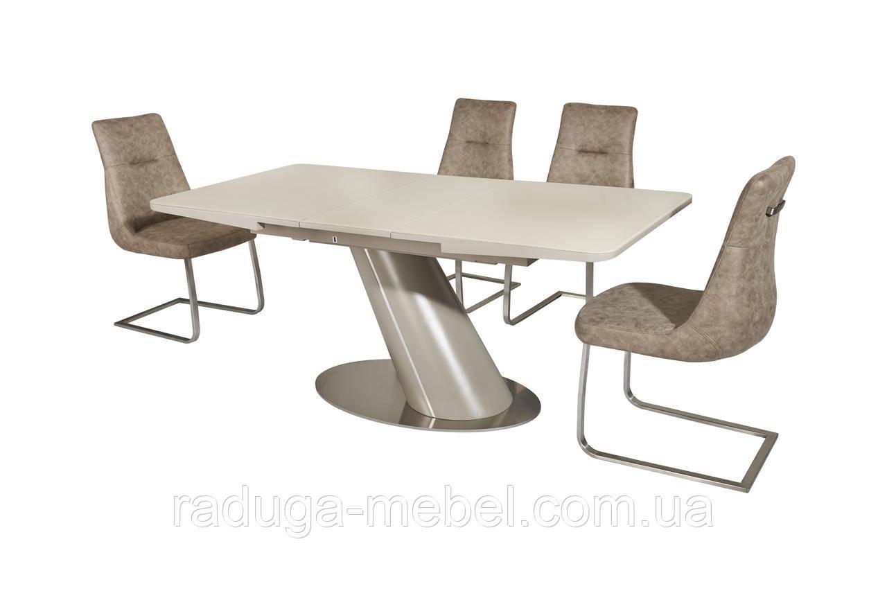 Стол кухонный обеденный беж сатин/латте сатин TМL-541