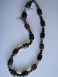 Ожерелье из мохового агата, фото 3