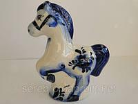 """Подарок на Новый год. Голубая лошадь """"Циркач"""", фото 1"""