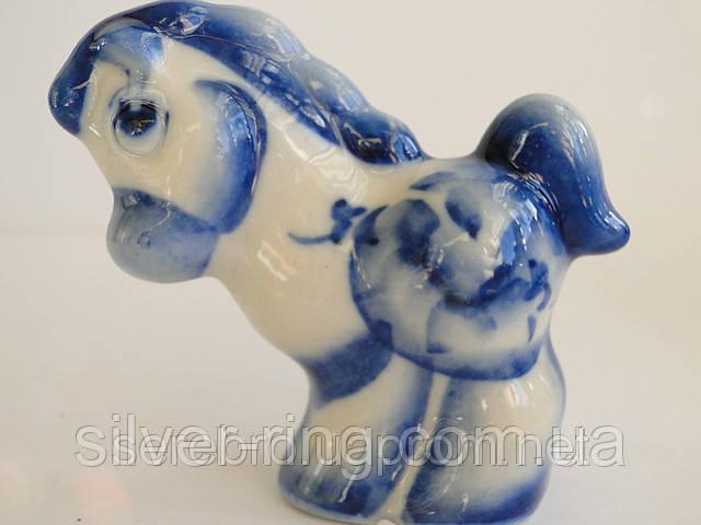 Символ 2014 года - голубая лошадь