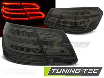 Фонари задние тюнинг оптика стопы Mercedes Benz W212 тонированные