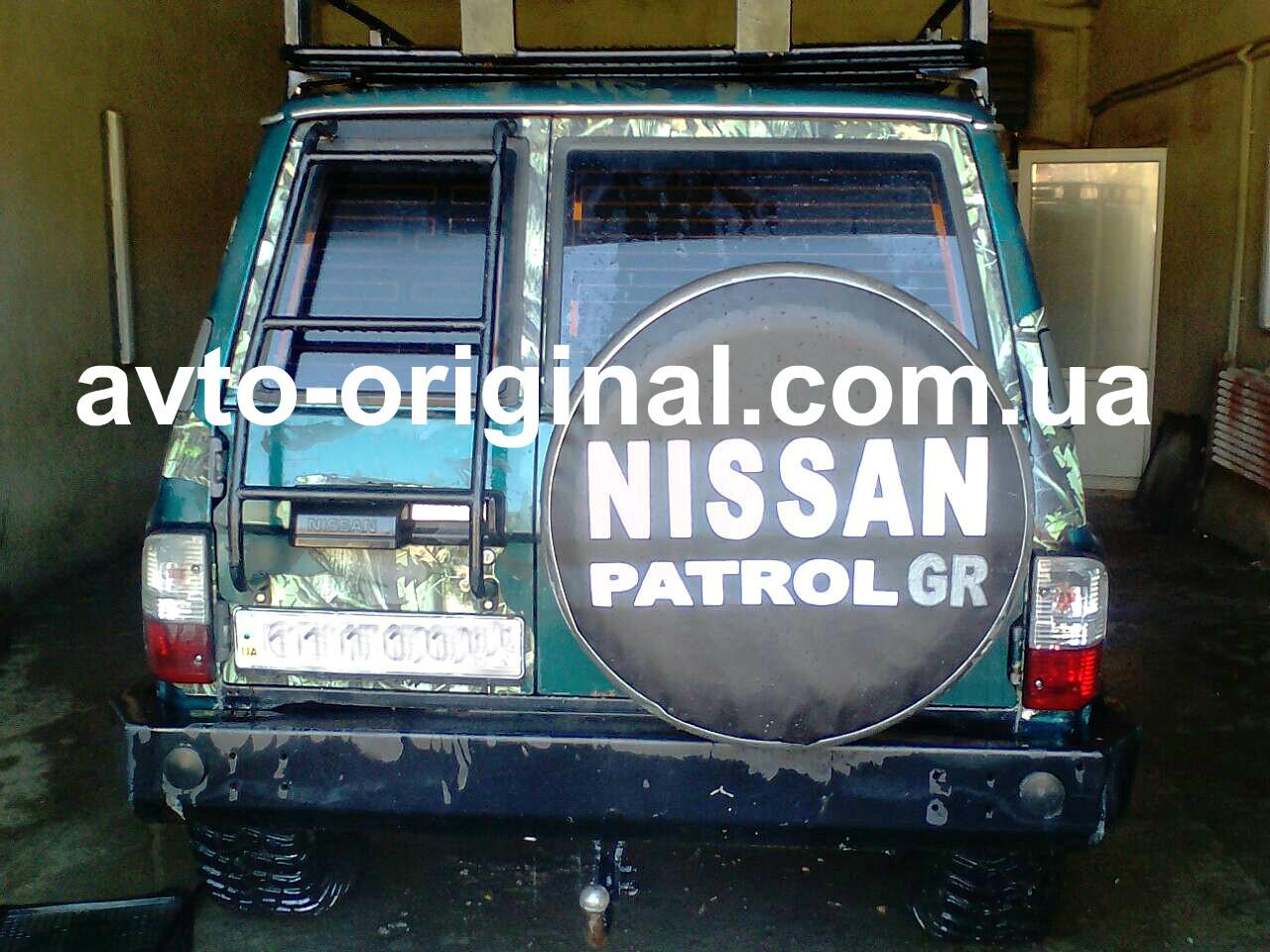 чехол запаски nissan patrol
