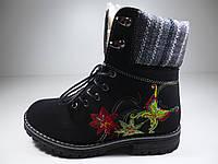 """Зимние ботинки для девочки """"Канарейка"""" Размер: 34, фото 1"""