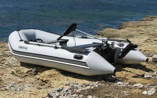 Лодки Омега моторные