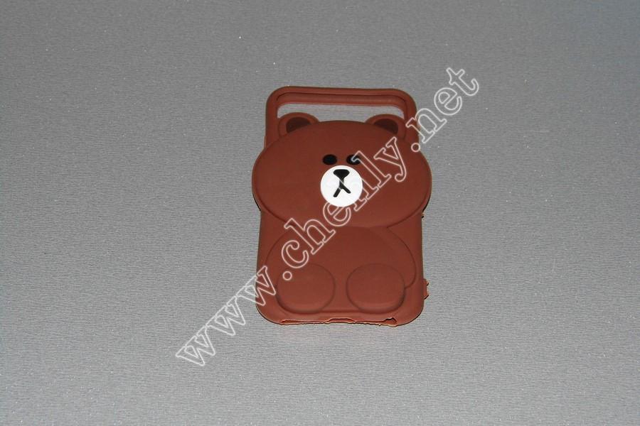 Универсальный силиконовый чехол для iPhone с диагональю  4,7 дюймов  Мишка
