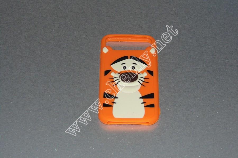 Универсальный силиконовый чехол для iPhone с диагональю 4,7 дюймов  Тигр