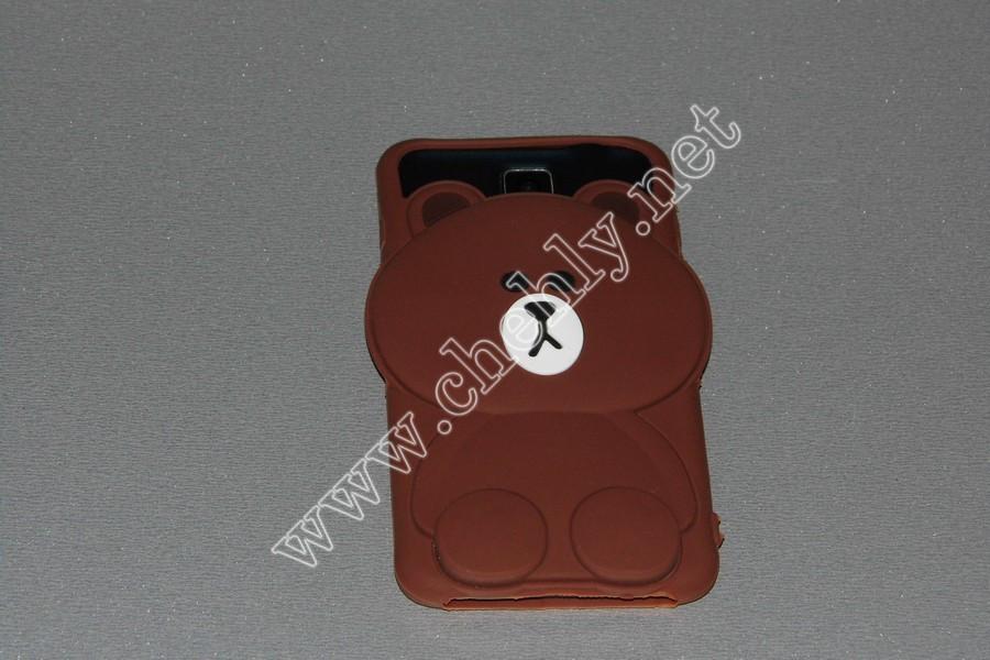 Универсальный силиконовый чехол для iPhone с диагональю  5,5  дюймов  Мишка
