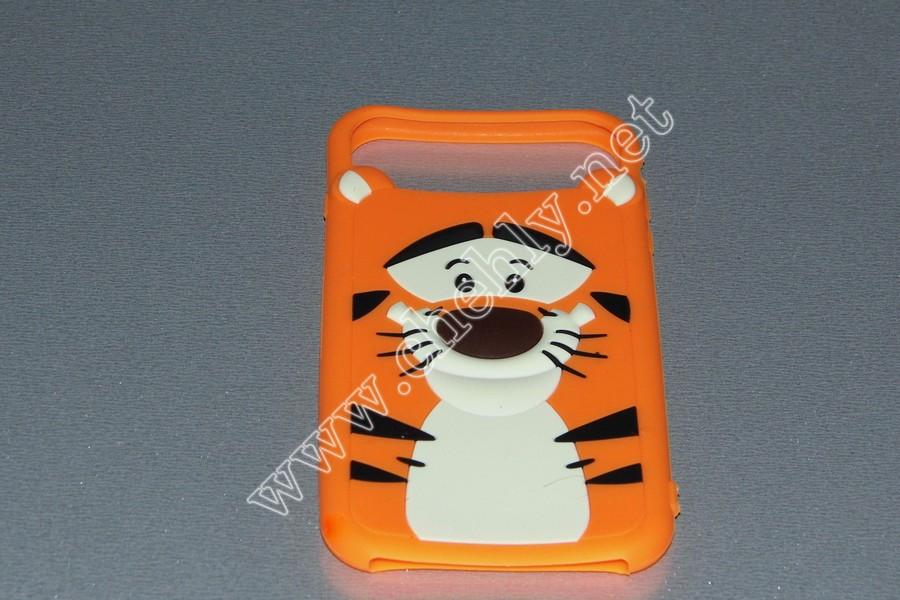 Универсальный силиконовый чехол для iPhone с диагональю  5,5  дюймов  Тигр